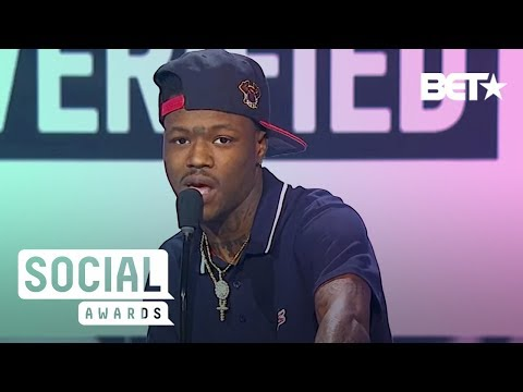 'TRL' Star DC Young Fly Predicts His Success | BET Social Awards