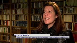 Yvelines | Patrimoine : Dans l'intimité d'Elsa Triolet et Louis Aragon à Saint-Arnoult-en-Yvelines