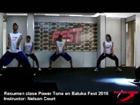 Clase de Power Tone Baluka Fest 2016 Caracas, Venezuela
