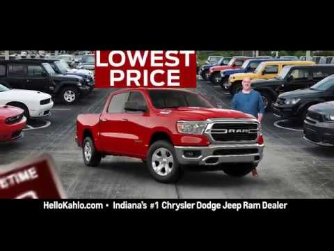 Labor Day Sales Event - All Ram trucks on Sale!