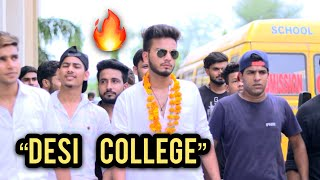 COLLEGE - FIRST VS LAST YEAR - | ELVISH YADAV |