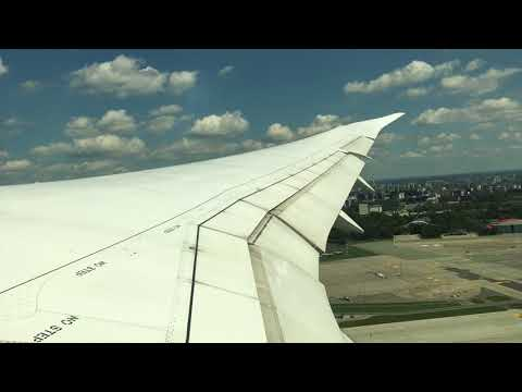 LOT Polish Airlines 787 Takeoff   Warsaw Chopin Airport