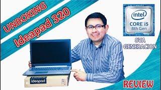 Unboxing Review Laptop Lenovo 320 15IKB 8va generacion