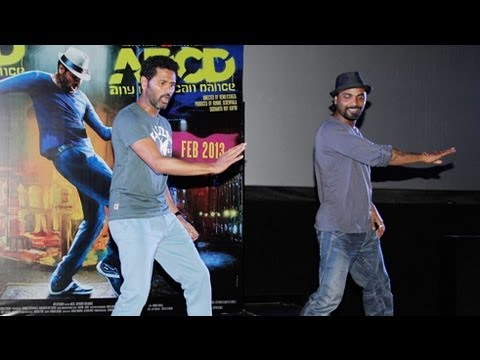 Prabhu Deva & Remo D'Souza Live Performance @ ABCD Trailer Launch
