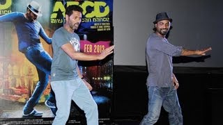 prabhu deva remo dsouza live performance abcd trailer launch