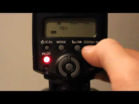 How to use all the functions on your Canon 430EXII Speedlite