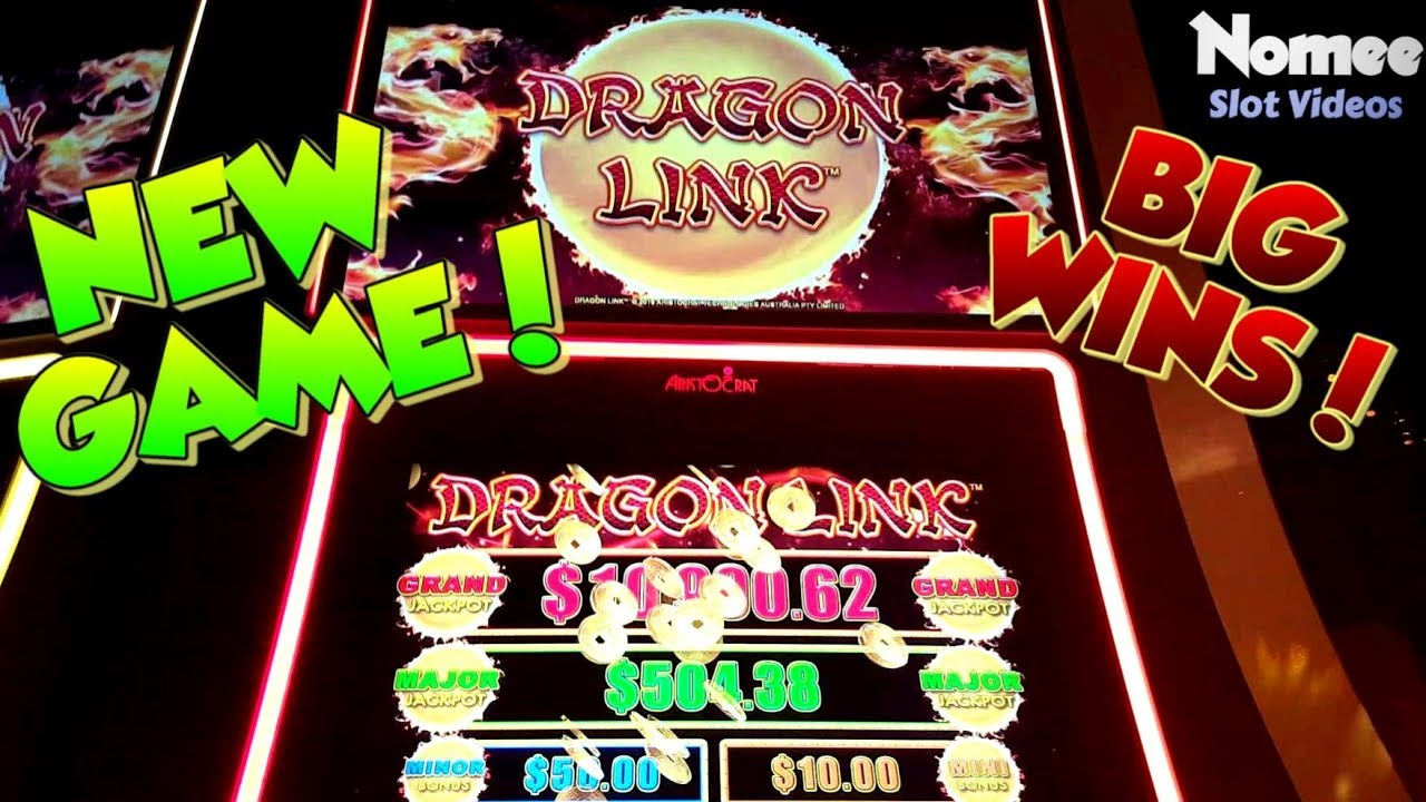 ★NEW GAME!★ DRAGON LINK Slot Machine ★ Multiple WINS ...