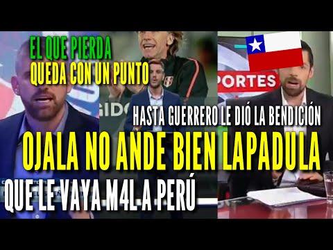¡LO RESPETAN! CHILENOS TEMEN QUE LAPADULA MARQUE GOL EN SANTIAGO  POR PERÚ