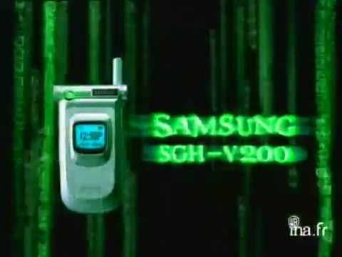 Samsung SGH-V200 - Publicité
