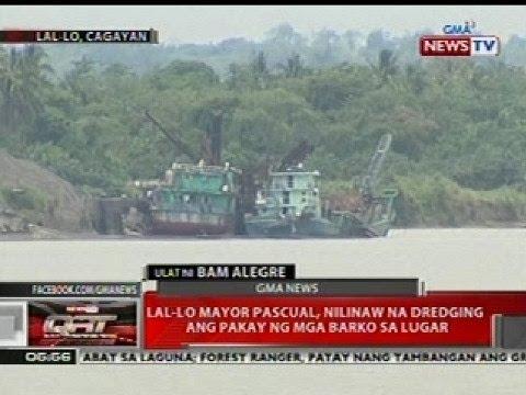 QRT: Lal-Lo, Cagayan Mayor Pascual, nilinaw na dredging ang pakay ng barko sa lugar