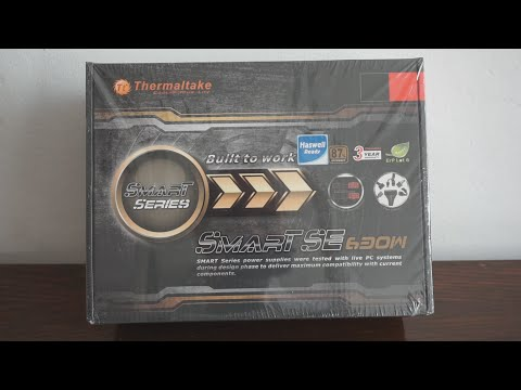 Thermaltake Smart SE 630W review, unboxing and install