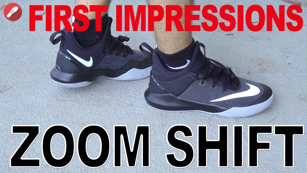 549a5cb23c96 Nike Zoom Shift First Impressions! - YouTube