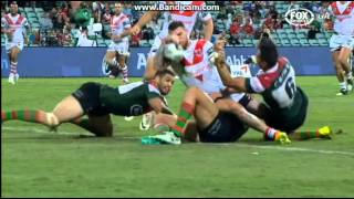 NRL 2014 Round 5 Highlights  Dragons Vs Rabbitohs