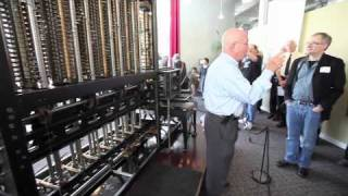 A demo of Charles Babbage's Difference Engine