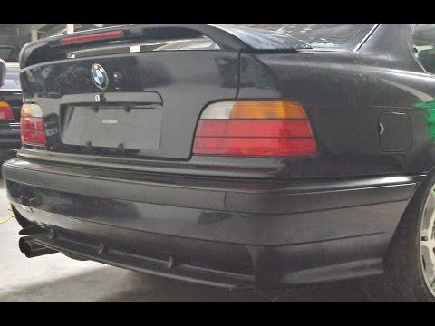 BMW E36 M3 Rear Technic Bumper Cover Removal