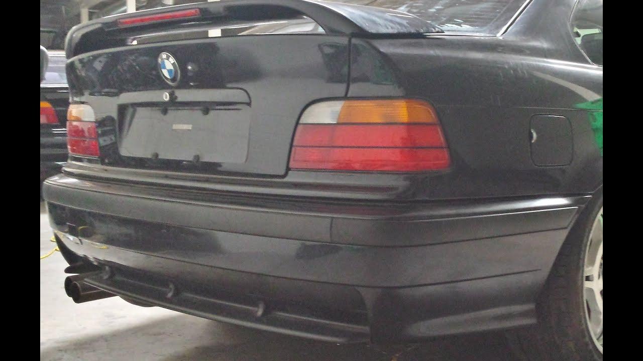 e46 compact rear bumper removal