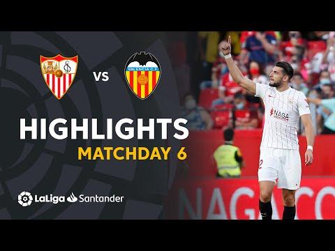Sevilla Valencia Goals And Highlights