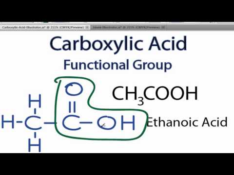 Carboxylic Acid Functional Group Structure