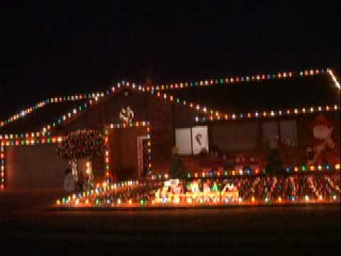 Edmond Christmas Lights Ripple Creek Pt 2 - YouTube