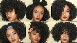 6 Crochet Hairstyles    Jamaican bounce    KEMIIXO