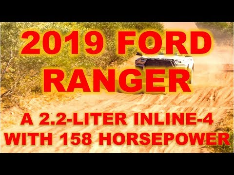2019 Ford Ranger Raptor, prototypes for the new mid-size pickup truck have been spotted