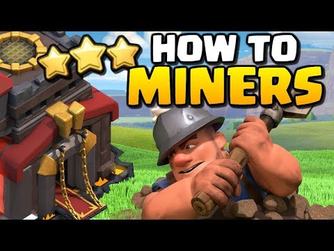 How To Guide For TH10 | MINER Attack Strategy | Clash Of Clans