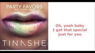Tinashe ft. Young Thug - Party Favors (lyrics)