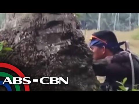 TV Patrol: Bakbakan sa Bohol, kuha sa phone video