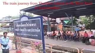 Kanchanaburi, and the River Kwai Bridge, the train journey there, Thailand. ( 9 )
