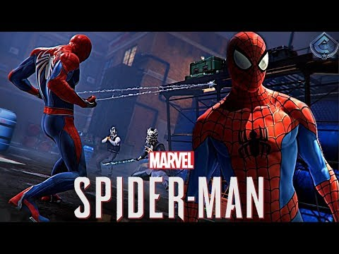 Spider-Man PS4 - Classic Spider-Man Suit Closer Look, Combat Breakdown!