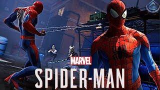 Spider-Man PS4 - Classic Spider-Man Suit Closer Look, Combat Breakdown!