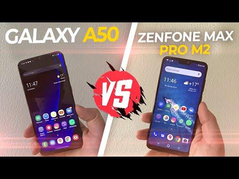 Samsung Galaxy A50 VS Asus ZenFone Max Pro M2! 🔥 БИТВА ЛУЧШИХ!