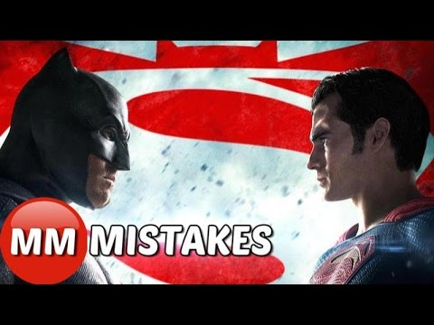Batman vs Superman Dawn of Justice Movie MISTAKES You Missed