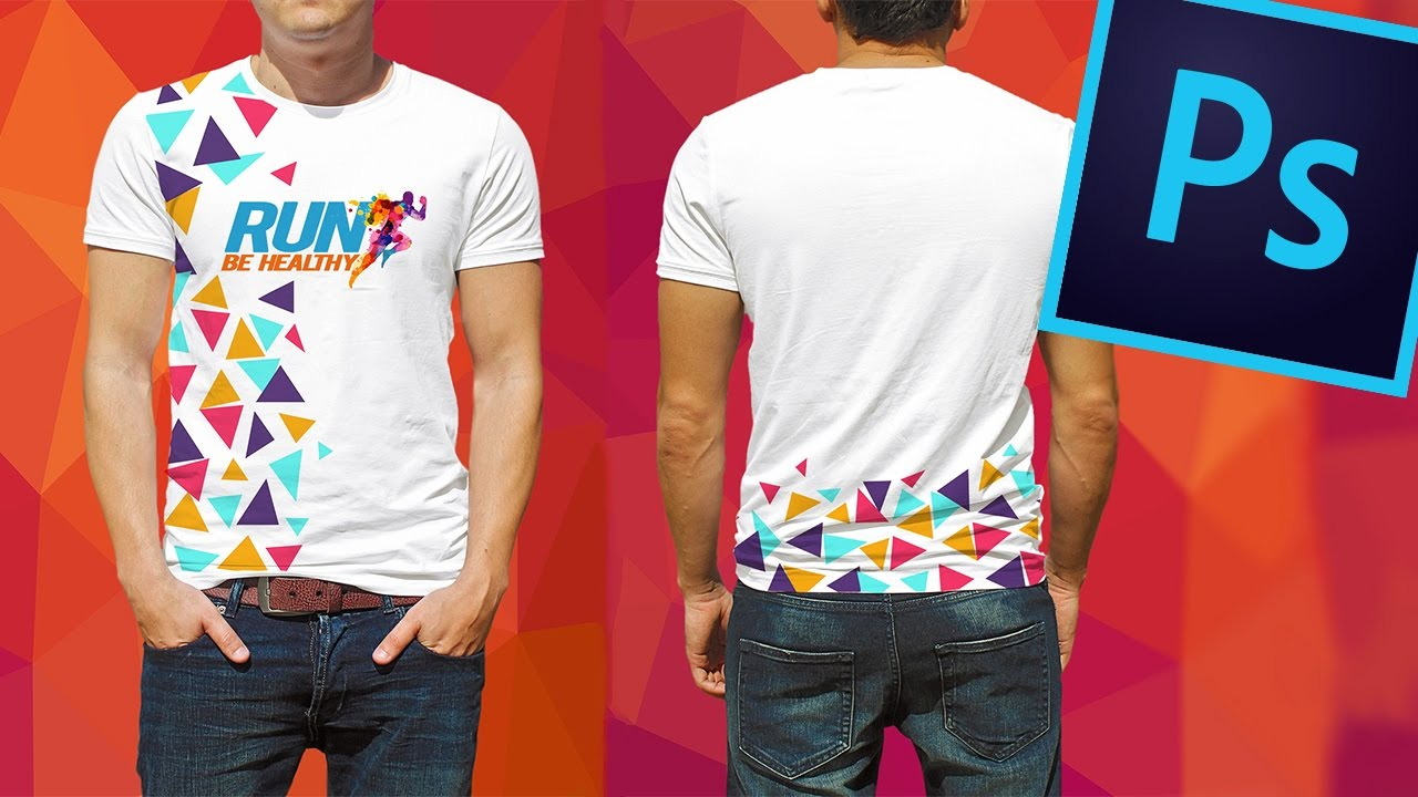 d47490fcac08c Crear y Simular estampado de camiseta   playera con Adobe Photoshop ...