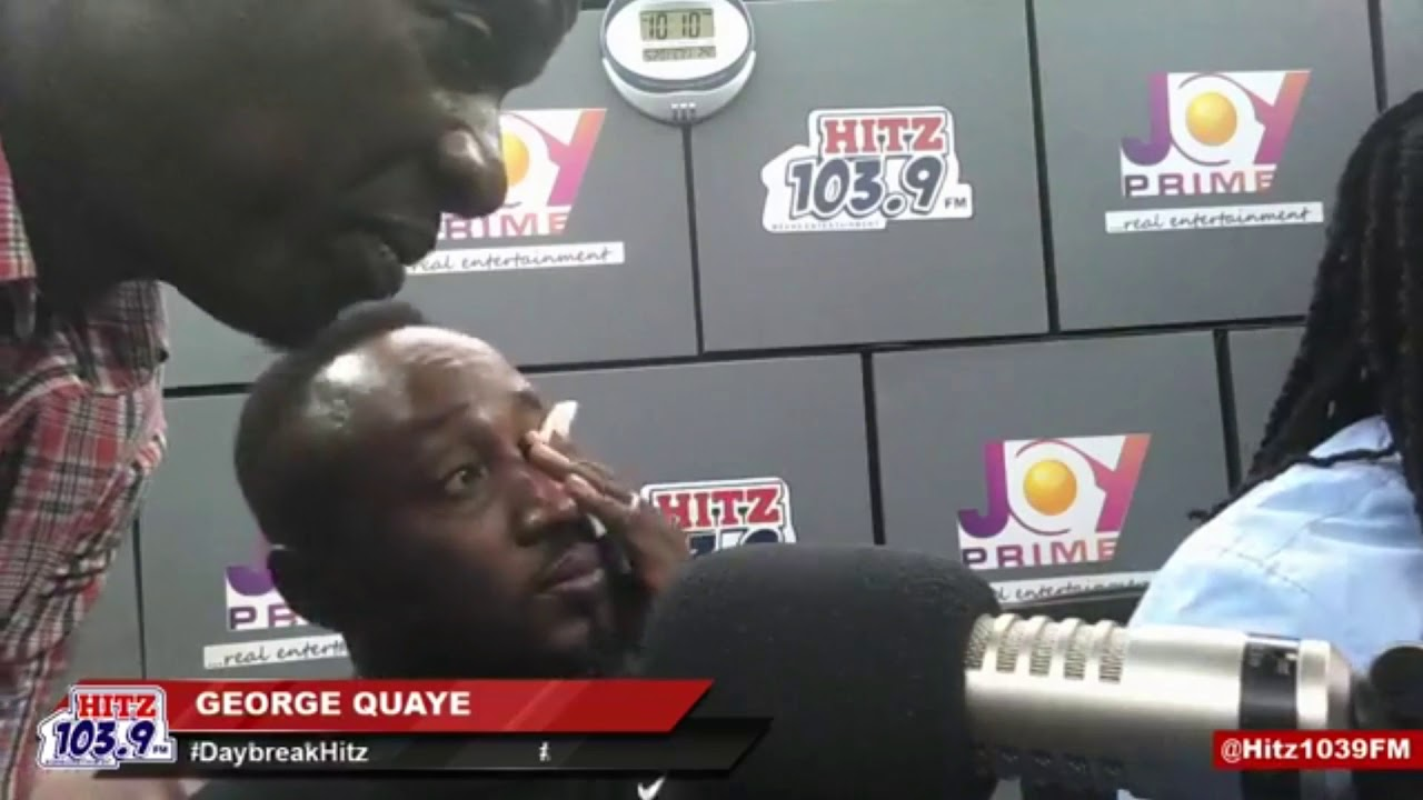 George Quaye cries over Stonebwoy, Shatta Wale clash at VGMA 2019