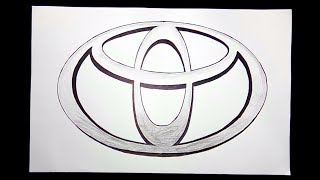 easy toyota draw simple drawing