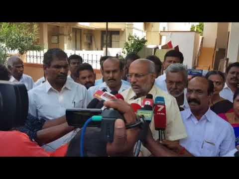 Press meet at Coimbatore