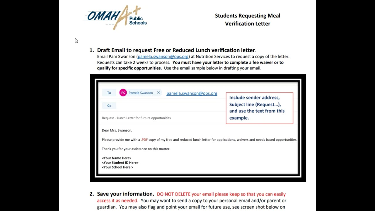 Fee Waivers for Free and Reduced Price Lunch