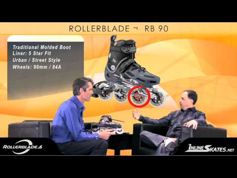 2012 Rollerblade RB 90 Mens Review