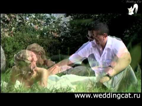 Прикольный веселый свадебный клип