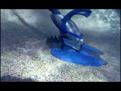 Fonctionnement d 39 un robot piscine youtube for Robot piscine