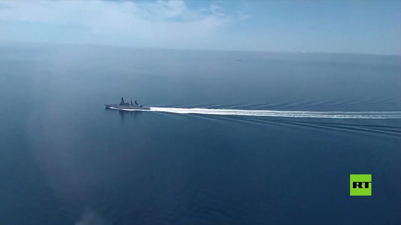 لقطات جديدة لطرد مدمرة بريطانية خرقت الحدود الروسية في البحر الأسود  - نشر قبل 1 ساعة