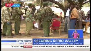 Senators from Kerio Valley questions gov\'t move to withdraw police reservists\' firearms