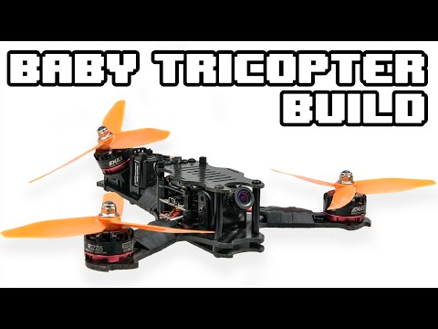 RCExplorer Baby Tricopter Build - (170mm Tricopter)