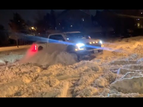 Ford Raptor -  THE best vehicle for handling deep snow!