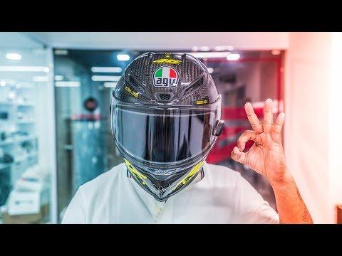 The ₹20,000 Electronic Helmet AGV VISOR!