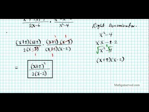 TrU1L8 prequiz Review simplyfying rational expressions