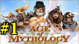 Let` s Play Age of Mythology Extended Edition Campaign Mission/Part 1 - Omens