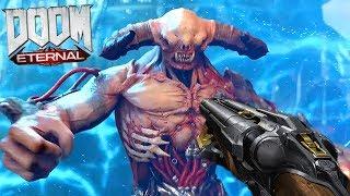 WELCOME TO THE APOCALYPSE!!! - Doom Eternal Gameplay Walkthrough Part 1