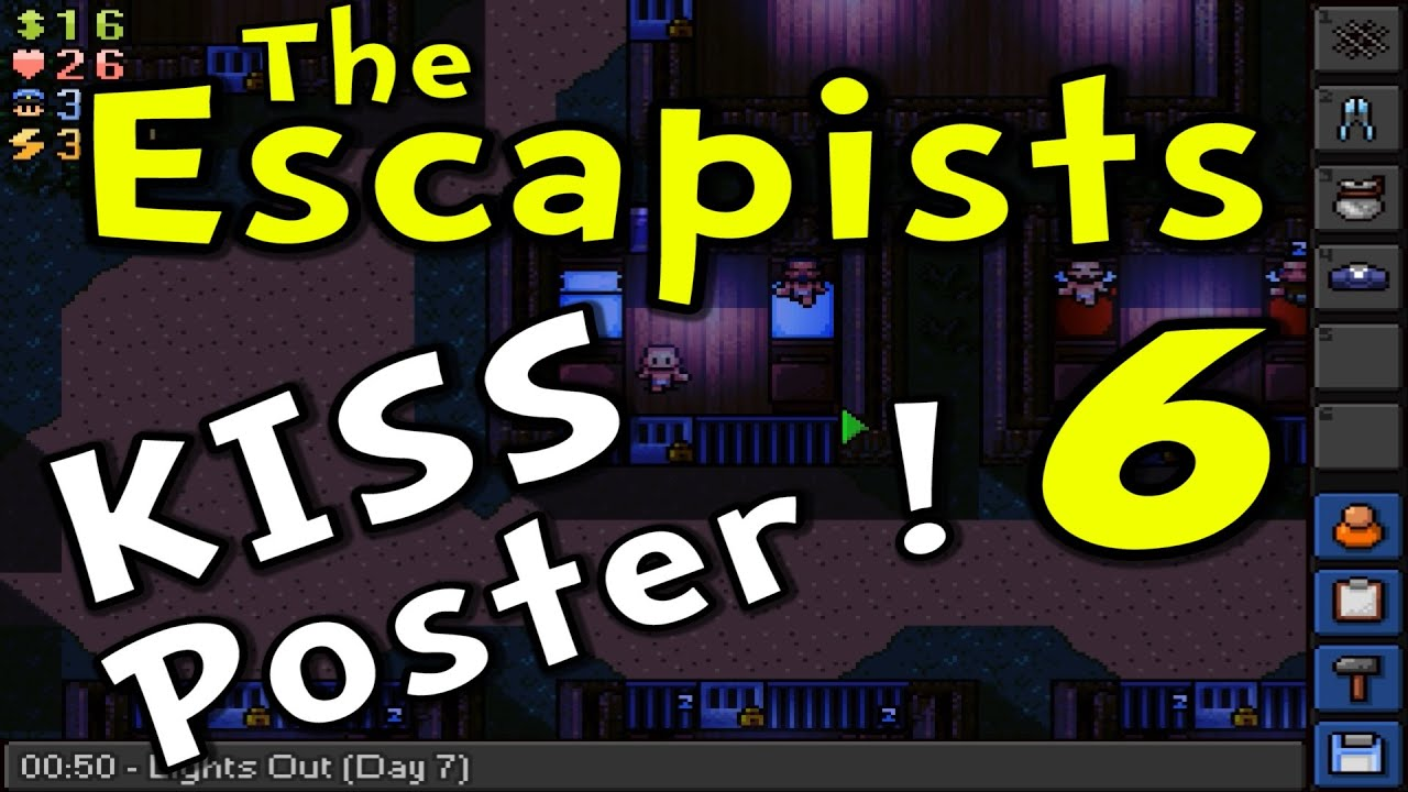 how to make a poster in the escapists